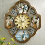 Miracles Of Jesus Religious Wall Clock