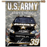 Nascar Ryan Newman 27-by-37 inch Vertical Flag