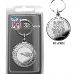 New England Patriots 4-time Super Bowl Champions Minted Coin Keychain