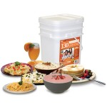Relief Foods 1 Month Emergency Food Supply Entrée and Breakfast Meals Bucket (130-Serving)