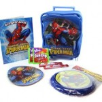 Spiderman Rolling Backpack Easter Gift Set