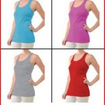 4pk Womens Ribbed