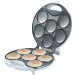 Brentwood AR-135 Brentwood 6-portion Arepa Maker, White