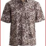 Nevis Palms Tropical Hawaiian Cotton Short Sleeve Shirt By Johari West