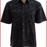 Night Life Cotton Batik Shirt By Johari West