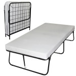 Sleep Master Traveler Premier Folding Frame Twin Guest Bed, Plus Bonus Storage Bag
