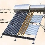 300 Liter Passive Duda Solar Water Heater Attached Pressurized Tank Evacuated Tubes Hot