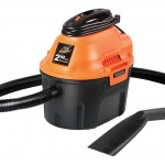 ArmorAll AA255 Utility Wet Dry Vacuum, 2.5 gallon, 2 HP