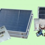 Complete 2 Panel Hybrid Solar Water Heater Kit