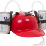 Drinker Beer and Soda Guzzler Helmet