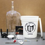 Gold Complete Beer Equipment Kit with 6 Gallon Glass Carboy