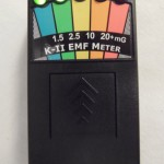 K2 KII EMF Meter Deluxe BLACK-New & Improved Design