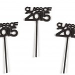 Plastic Class of 2015 Picks for Graduation Party - 72 Pcs
