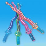 12 Large Inflatable Snake Swords 27 inflate toys