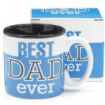 Best Dad Ever 13Oz Coffee Mug Great for Father's Day or Birthday - Blue