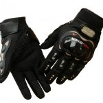Carbon Fiber Pro-Biker Bicycle Motorcycle Motorbike Powersports Racing Gloves