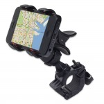 GreatShield Clip-Grip Handlebar Bike Mount Holder for iPhones, Samsung Galaxy, LG, BlackBerry,