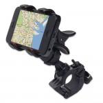 GreatShield Clip-Grip Handlebar Bike Mount Holder for iPhones, Samsung Galaxy, LG, BlackBerry,