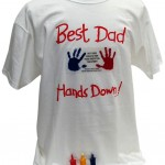 Hand-y Tees Best Dad Tee Keepsake Product, X-Large