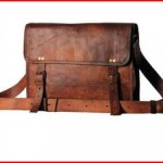 Handmade Unisex 100 Genuine Auth Real Leather Messenger Bag for Laptop Briefcase Satchel