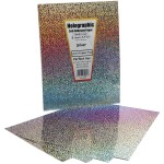 Holographic Paper Self-Adhesive Sparkle