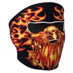 Hot Leathers Blazing Eagle Neoprene Face Mask