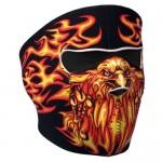 Hot Leathers Blazing Eagle Neoprene Face Mask