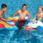 Intex 56539EP Water Gun Spaceship Ride-Ons