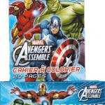 Marvel Avengers Assemble Crayon Packs and Mini Coloring Books - 12 of each