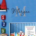 Morgan Wall Decal Childrens Personalized Name