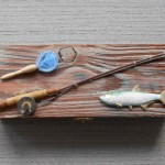 Nautical Fishing Box for Coins, Keys or Watch, Man Cave Father's Day Gift
