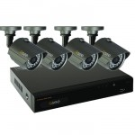 Q-See QT534-4E4-5 4 Channel Full D1 Surveillance System with 4