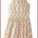 Roxy Big Girls' Multicolor Tribal Print Knit Dress