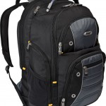 Targus Drifter II Backpack for 17-Inch Laptop, Black Gray