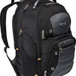 Targus Drifter II Backpack for 17-Inch Laptop, Black Gray