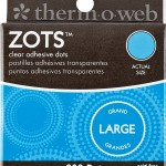 Thermoweb Zots Clear Adhesive Dots, Large,