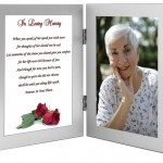 Woman Sympathy Gift - In Loving Memory of a Wife
