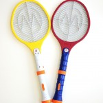 2 Pack Electric LED Bug Fly Mosquito Zapper Swatter Killer Control