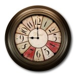 21 Inch Jumbo French Provincial Wall Clock