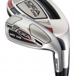 Adams Golf Idea A12OS 7-GW 4,5,6 Hybrid (Right Hand, Steel, Stiff Flex)
