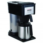 BUNN BT Velocity Brew 10-Cup Thermal Carafe Home Coffee Brewer, Black