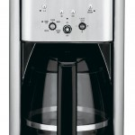 Cuisinart DCC-1200 Brew Central 12-Cup Programmable Coffeemaker, Black Brushed Metal