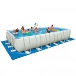 Intex 28375EH Ultra Frame Pool Set, 32-Feet by 16-Feet by 52-Inch