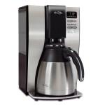 Mr. Coffee Optimal Brew 10-Cup Thermal Coffeemaker, BlackStainless Steel