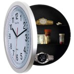 Sleep More White 10-inch Wall Clock-Easy to Read Black Hands