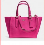 Coach Crosby Mini Carryall in Pink