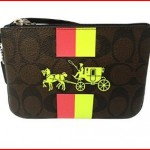 Coach Signature Print Brown Horse & Carriage