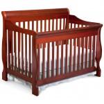 Delta Children Canton 4-in-1 Convertible Crib, Dark Cherry