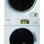 ECOAP EW 820 & ED 850 Stackable Set of Washer and Dryer