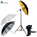 LimoStudio Photo Studio Portable Hot Shoe Flash Umbrella